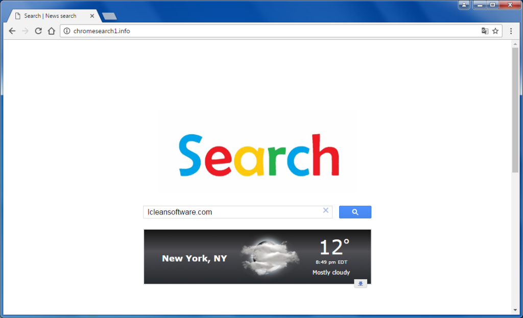 Remove Chromesearch1.info