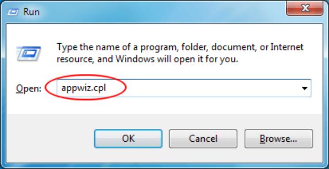 type appwiz