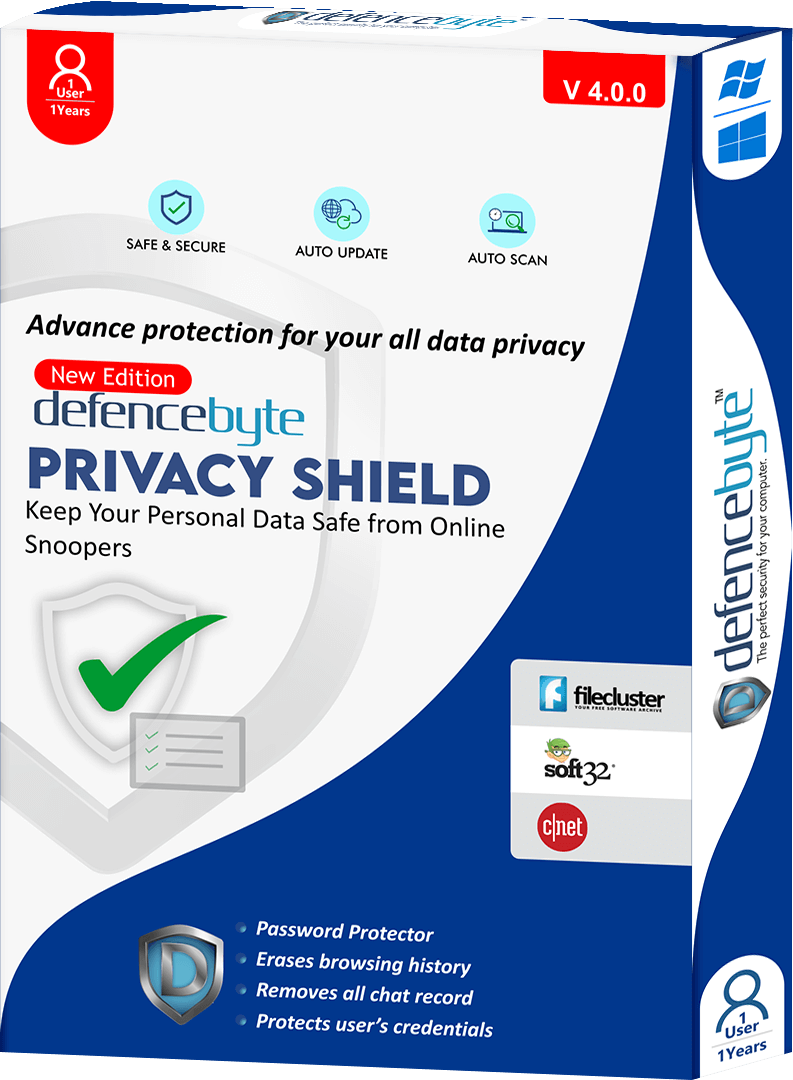 Privacy shield Software - defencebyte