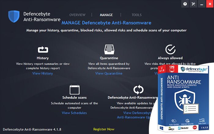 Anti Ransomware Systems