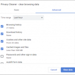 Browser History Cleaner Software